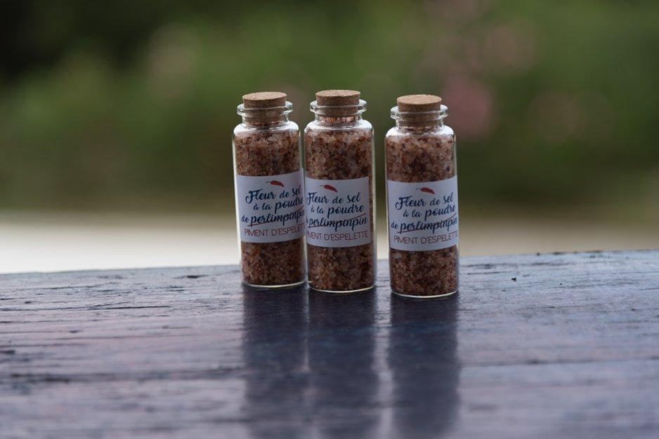 Idée pour mes cadeaux d'invités au mariage : du sel !!
