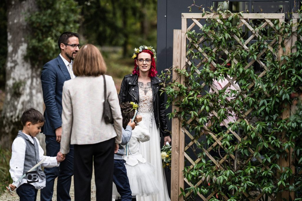 L'entrée des mariés et début de notre cérémonie laïque // Photo : Olivier Baron