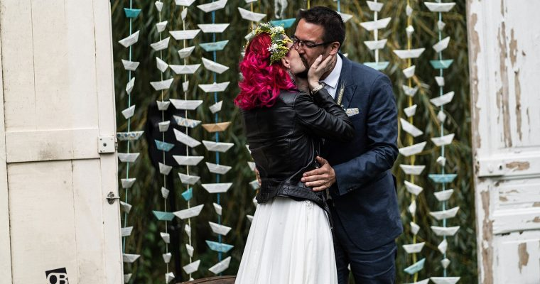 Mon mariage broc, rétro, rock : la cérémonie laïque – les mots de la fin