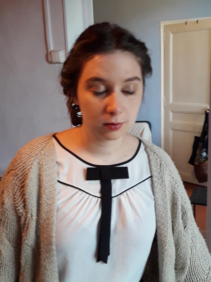 La mise en beauté (maquillage + coiffure) pour mon mariage