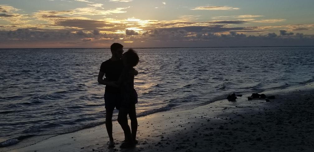 Une demande en mariage sur l'île de La Réunion