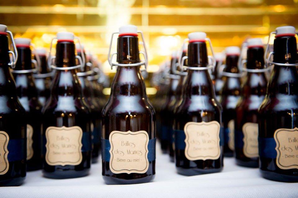Idée pour mes cadeaux d'invités au mariage : des bières artisanales !!