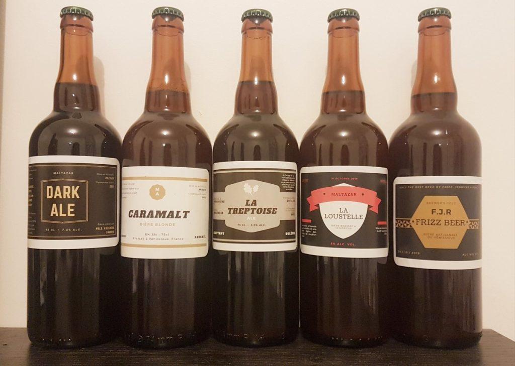 Brassagede bières artisanales pour l'EVC