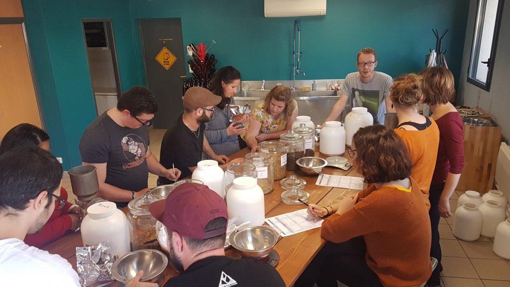Atelier de brassage de bière pour l'EVC