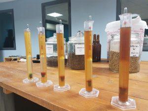 Bières artisanales classées par taux d'amertume