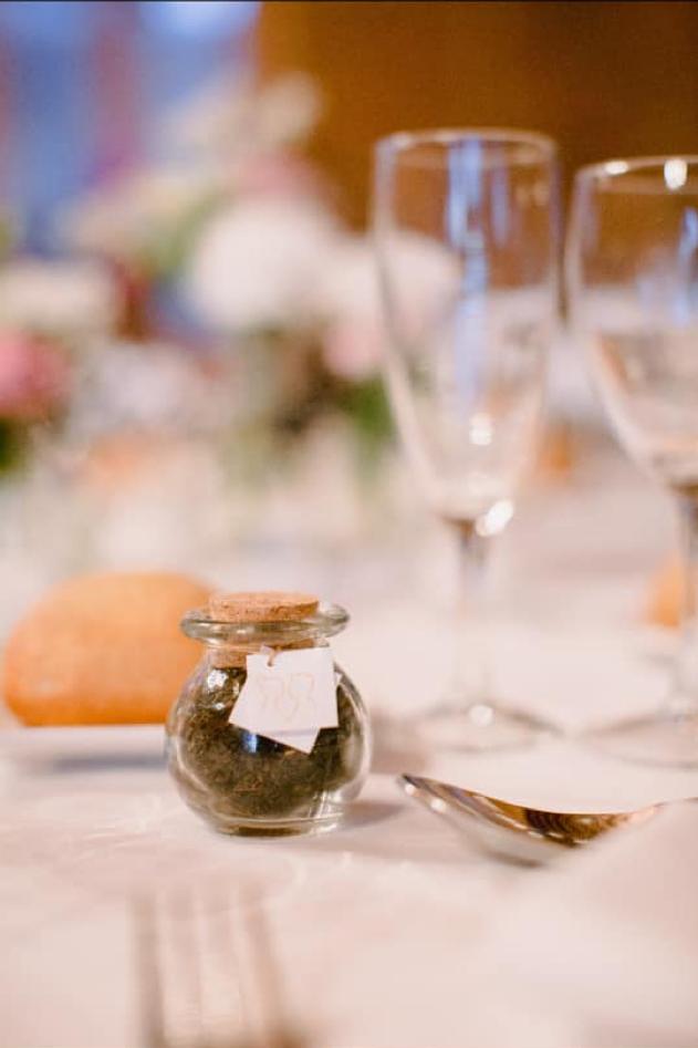 Idée pour mes cadeaux d'invités au mariage : du thé aromatisé !!