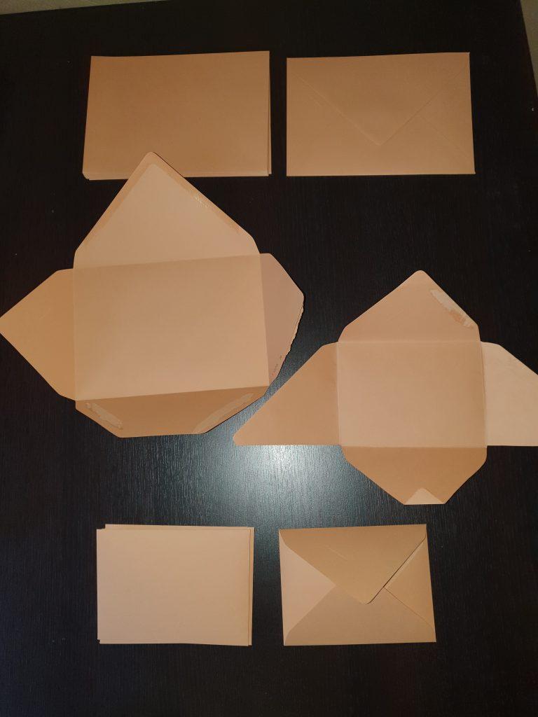 Mes faire-part DIY : le choix des enveloppes