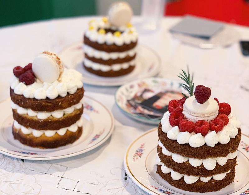 Le choix du repas et de notre dessert de mariage : un naked-cake