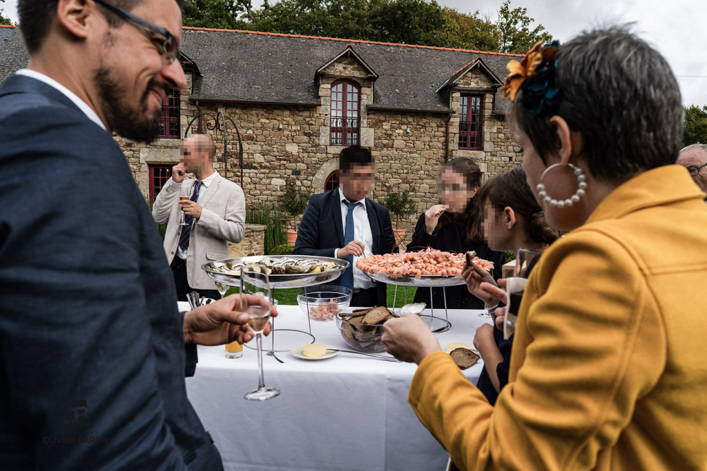 Déroulé de mon vin d'honneur breton // Photo : Olivier Baron Photographe