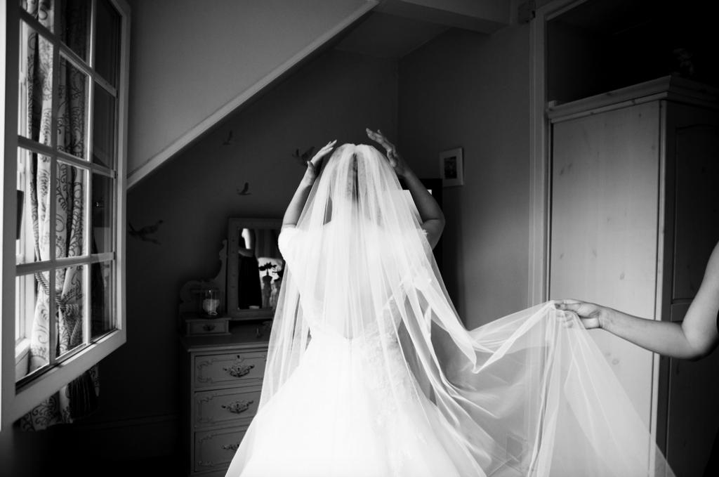 Les accessoires de nos tenues de mariées : le voile