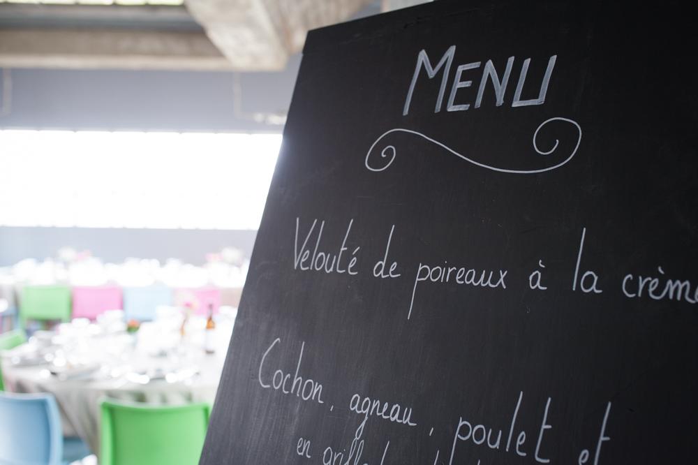 Notre traiteur du jour J pour un menu non conventionnel !