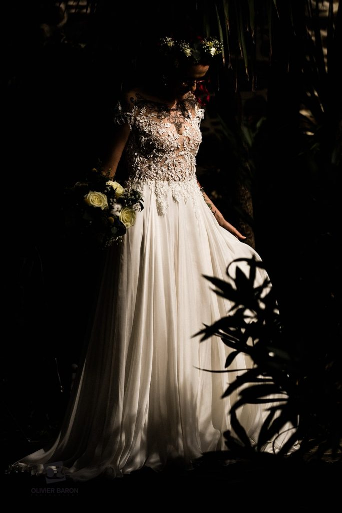 Nos prestataires de notre mariage brock, rétro et rock : ma robe de mariée