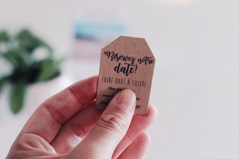 Annoncer le mariage aux invités : les save the date