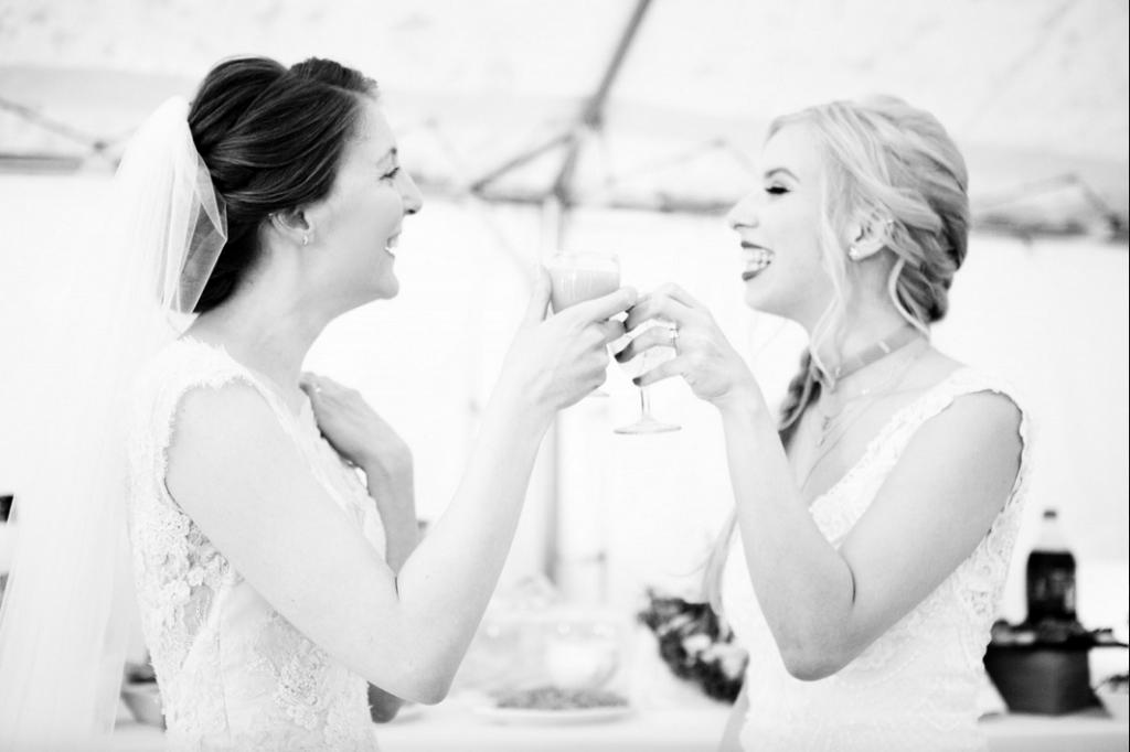 Cocktail végétarien pour notre mariage