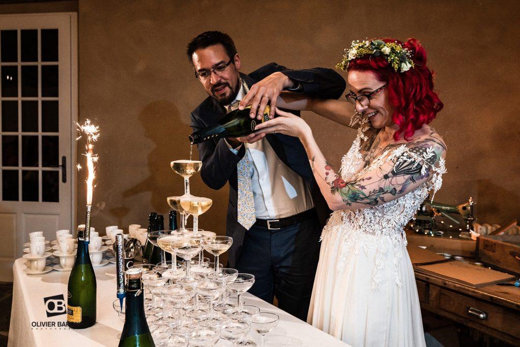 Mon mariage brock, rétro, rock : le dîner