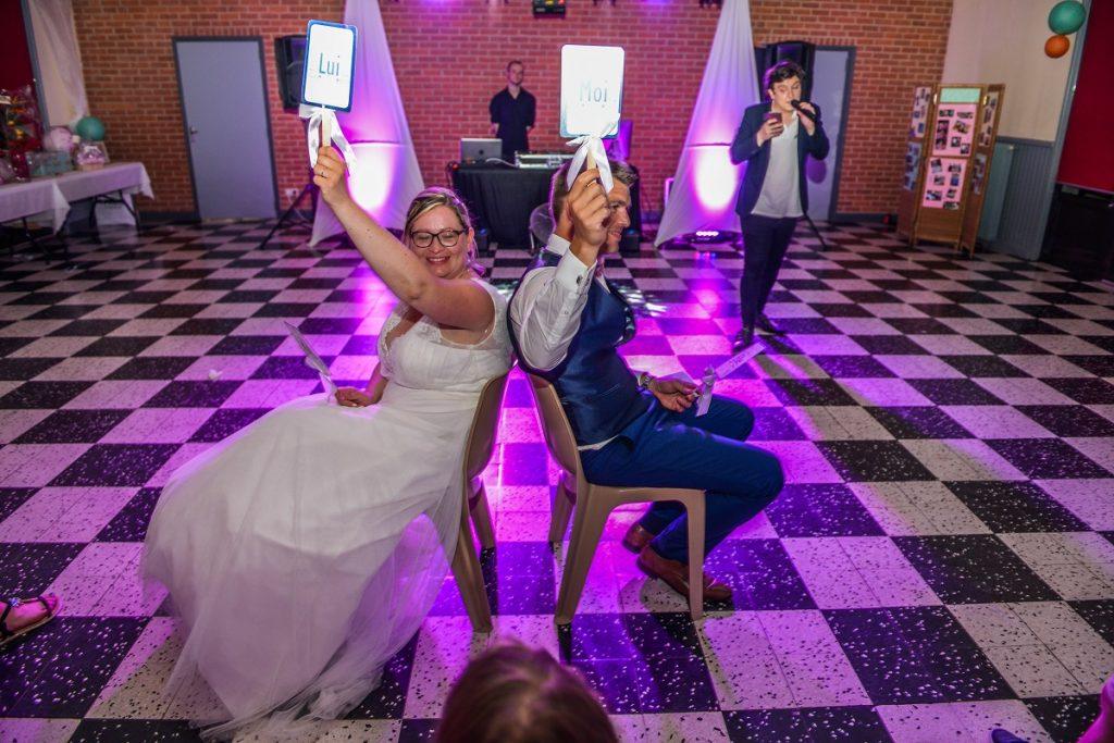 Les animations de mon mariage : le jeu du elle ou lui