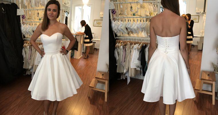 Comment trouver sa robe de mariée un peu trop rapidement et finir avec trois robes… – Partie 3