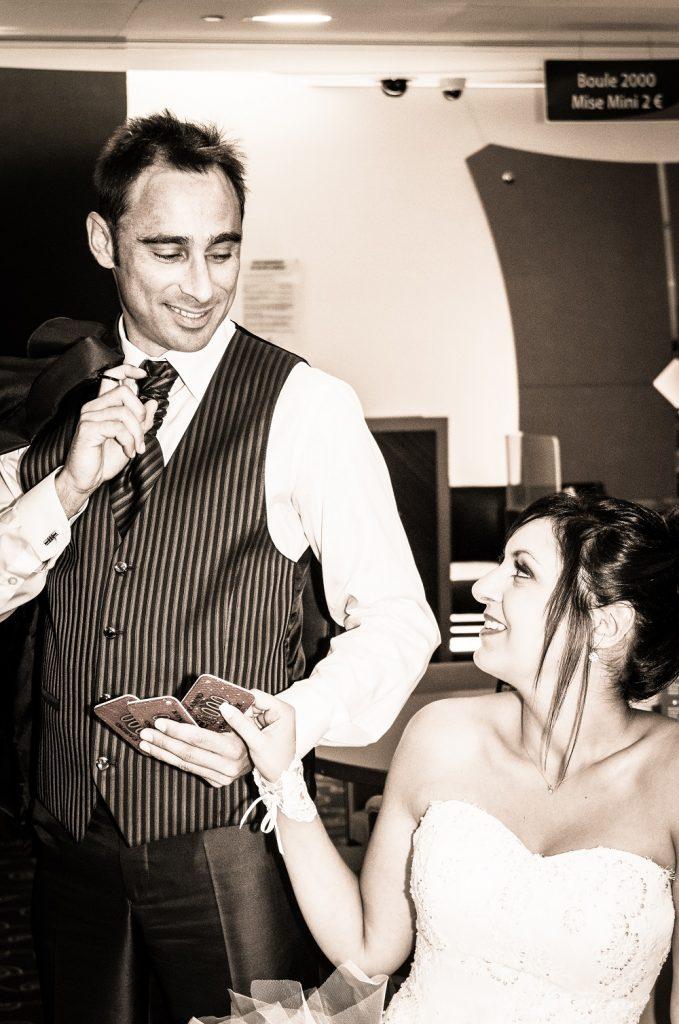 Photos de couple et cérémonie à l'église