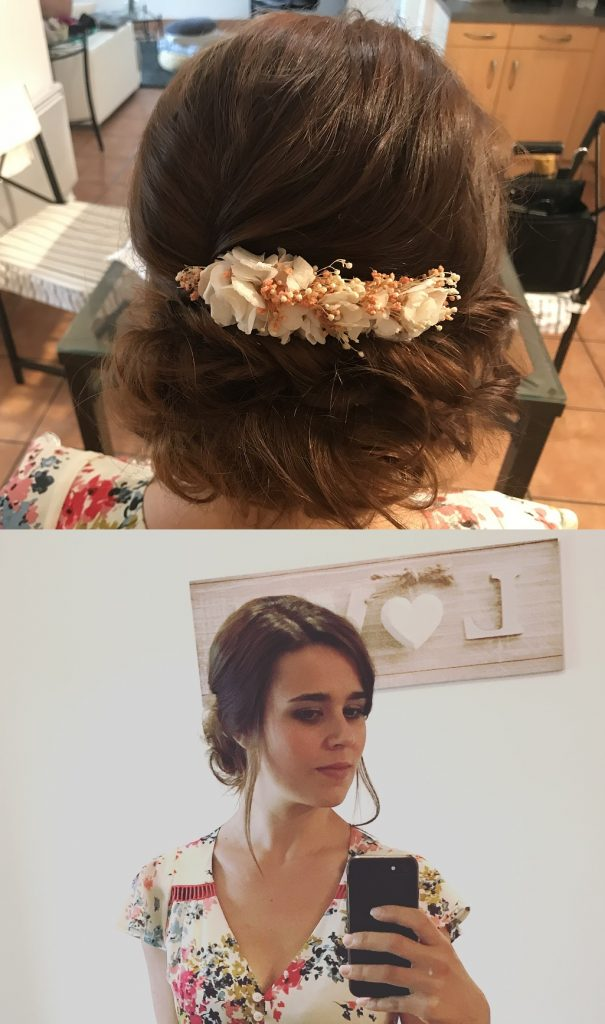 Mes essais coiffure et maquillage pour le jour J