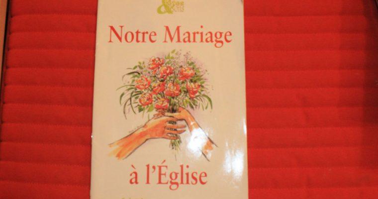 L'épisode de la préparation au mariage religieux
