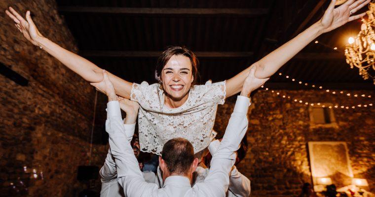 Mon mariage provençal, doré et tropical : soirée de folie sur le dancefloor