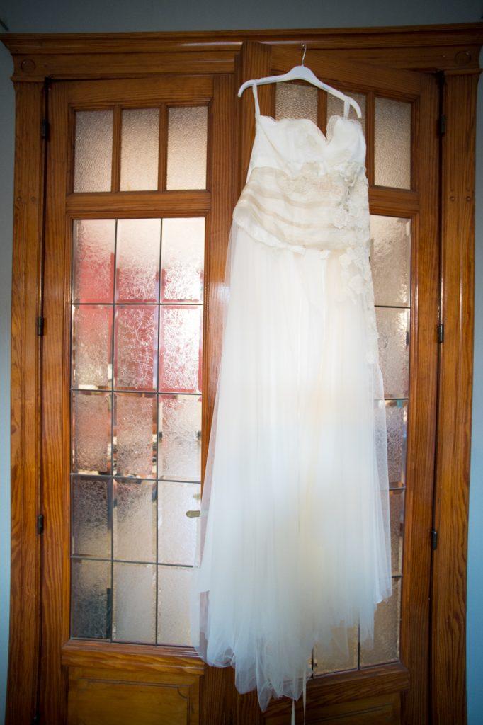 Ma robe et mes accessoires de mon mariage d'hiver