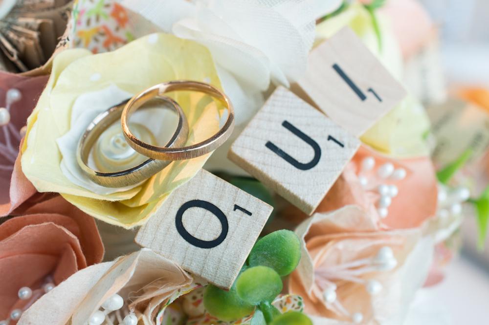 Les alliances de notre mariage