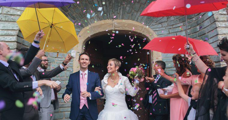 Mon mariage normand et coloré : la journée