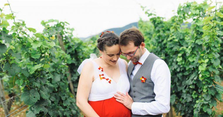 Mon mariage multicolore et enceinte au cœur du vignoble alsacien : le bilan