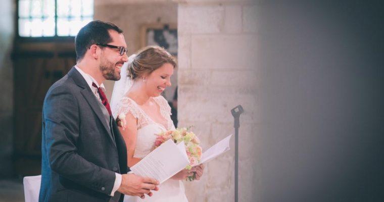 Mon mariage champêtre à paillettes : la cérémonie