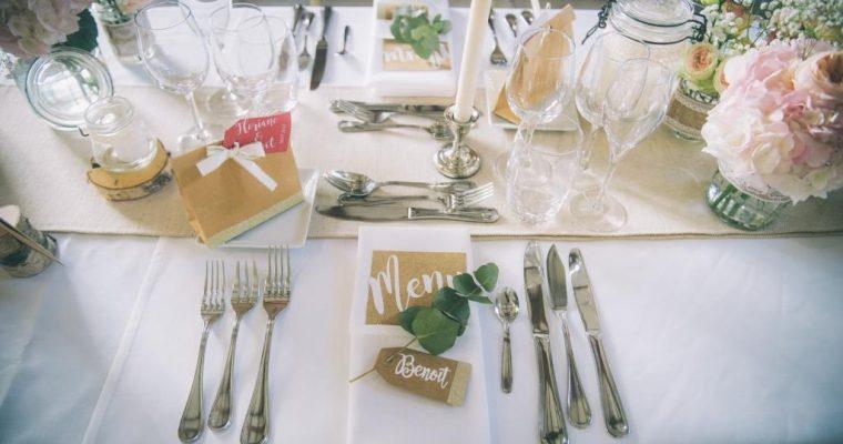 Mon mariage champêtre à paillettes : la décoration