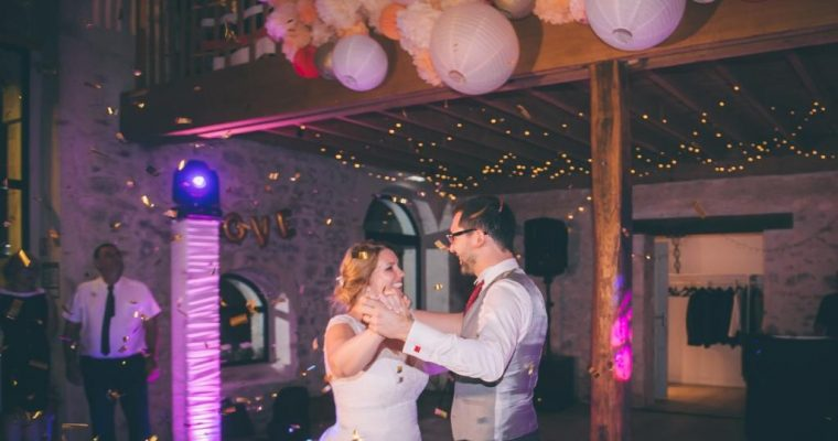 Mon mariage champêtre à paillettes : notre ouverture de bal et nos dernières surprises !