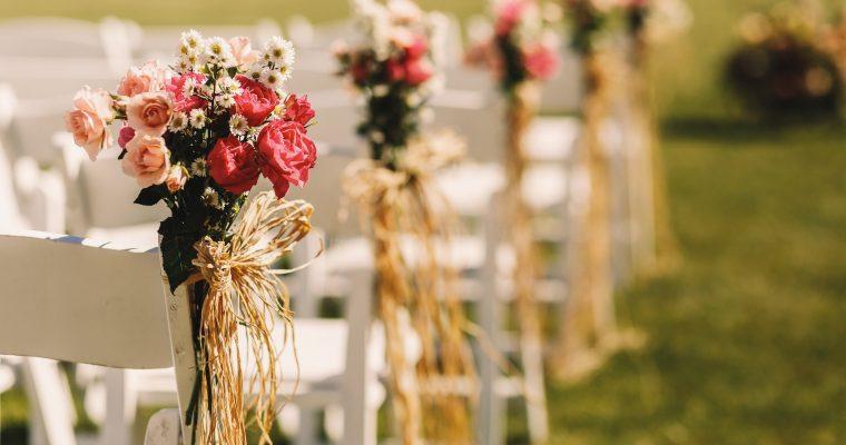 Une belle cérémonie, notre «vrai» mariage !