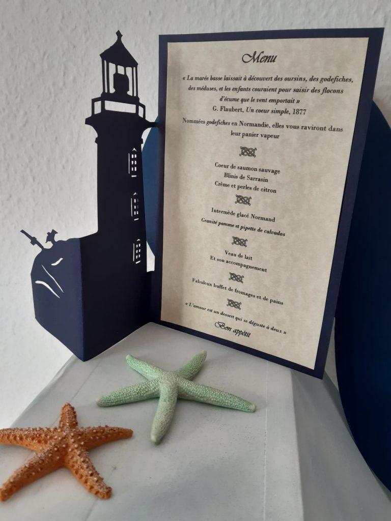 menu phare
