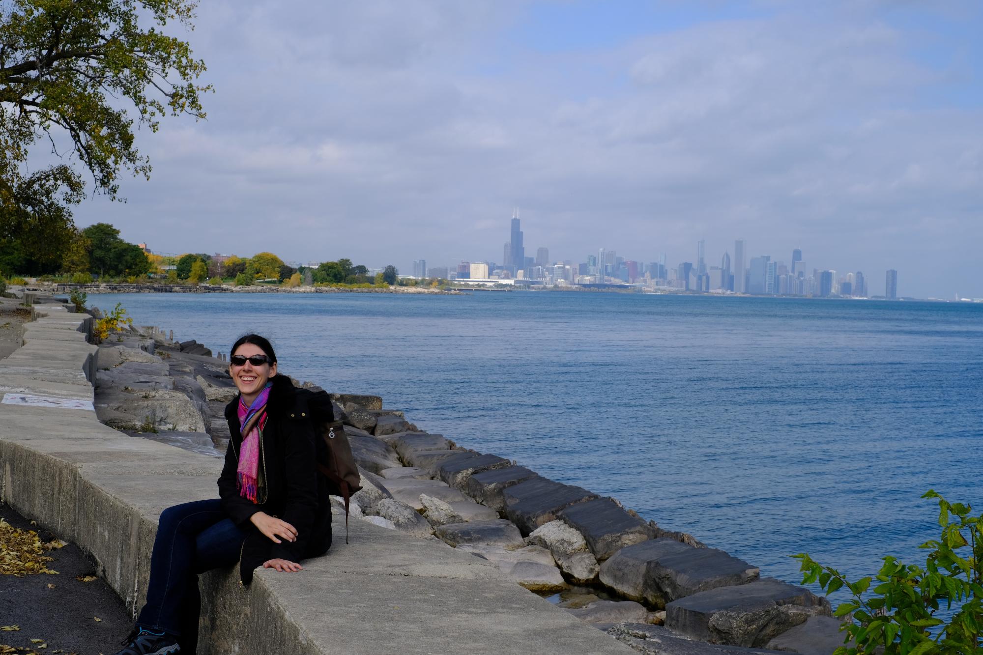 Chicago en arrière-plan, une superbe vue - Crédit photo : Monsieur Pragmatique