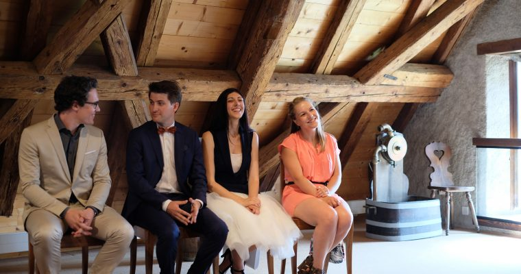 Mon élégant mariage technophile : la cérémonie civile 100% en Lavaux