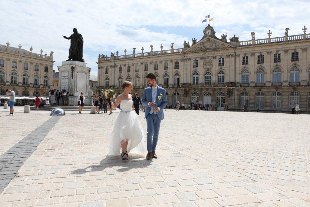 mariés place Stanislas