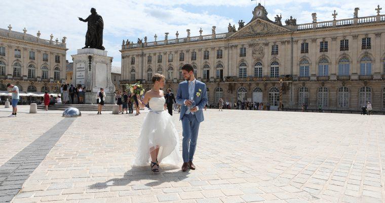 Mon mariage, 3 jours en Lorraine aux airs marins : occuper ses invités entre deux cérémonies et photos  de couple