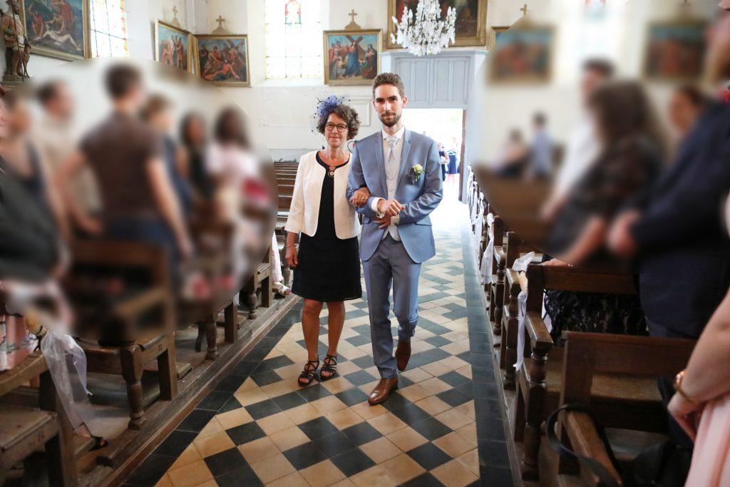 entrée marié église