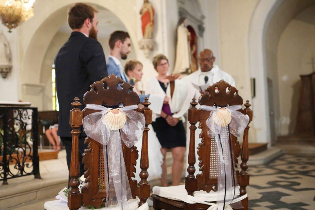 chaise mariés