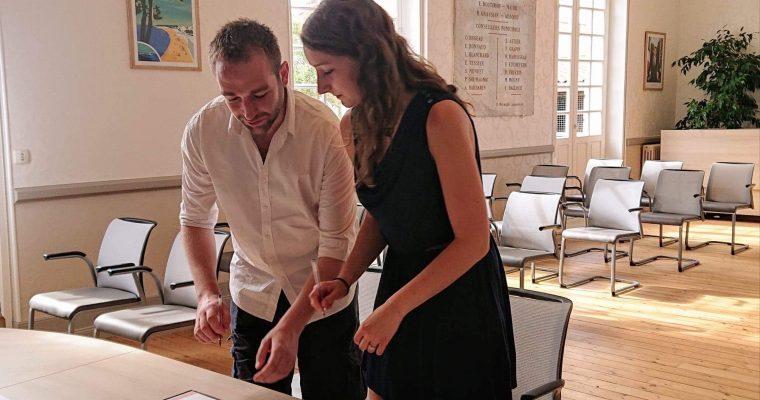 Mon mariage romantique franco-irlandais : J-1 et notre «oui» à la mairie