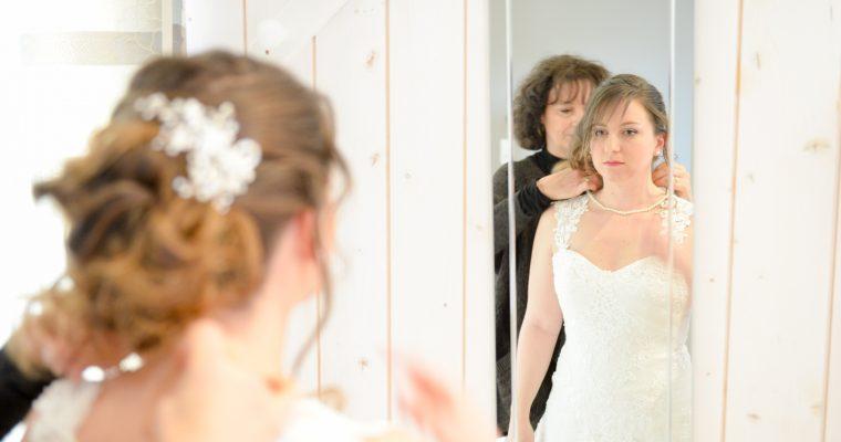 Mon mariage printanier en hiver : les préparatifs et la séance first look