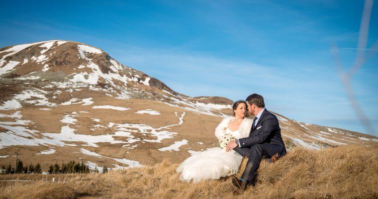Mon mariage printanier en hiver : la séance de couple
