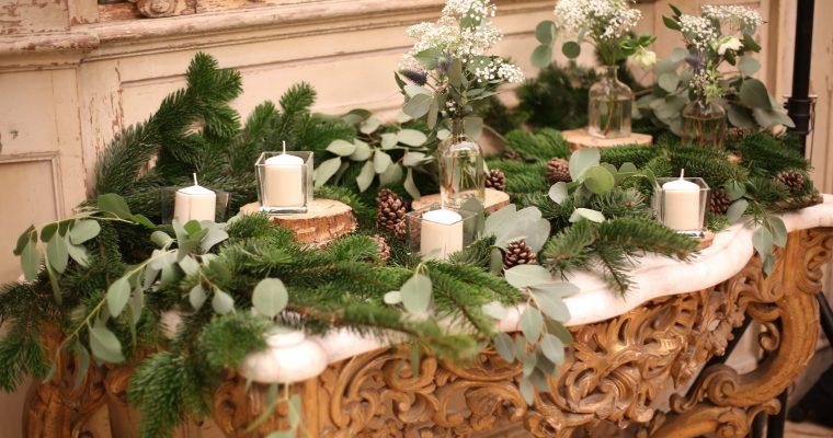 Mon mariage forêt hivernale chic : la cérémonie laïque et le vin d'honneur