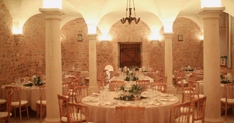 Mon mariage forêt hivernale chic : le repas et la soirée