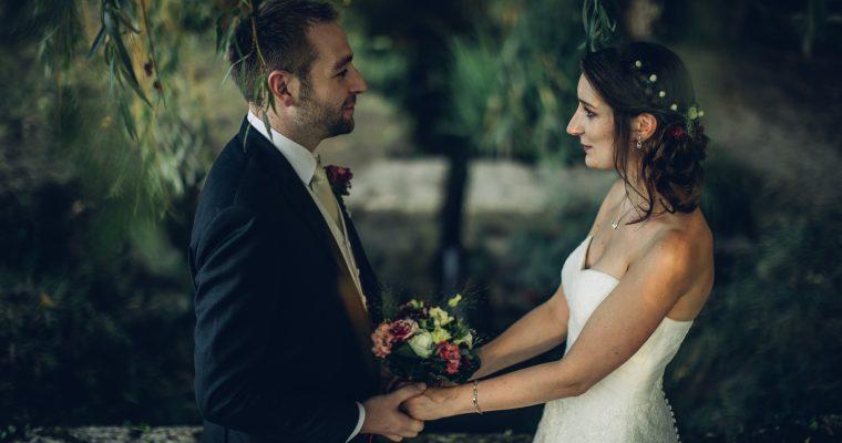 Mon mariage romantique franco-irlandais : le vin d'honneur, nos photos de couple, et une jolie surprise