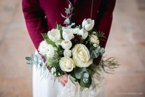 Bouquet de la mariée tout blanc