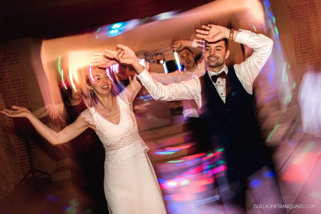 Soirée dansante au mariage