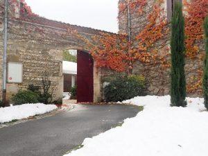 Domaine de Grand Maison enneigé