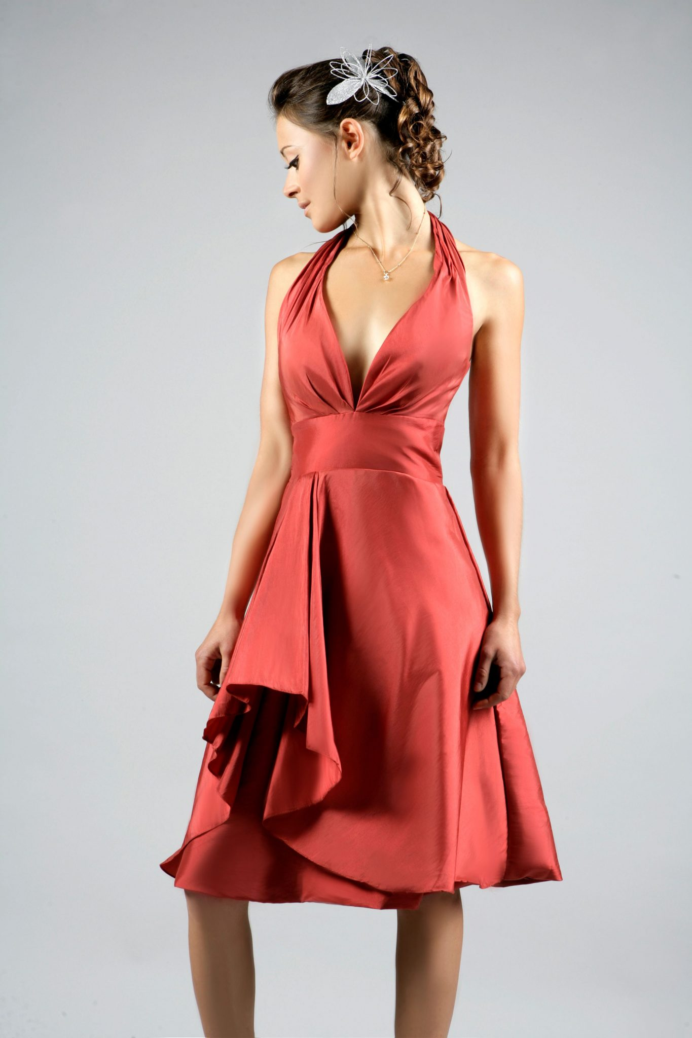 robe de cocktail courte